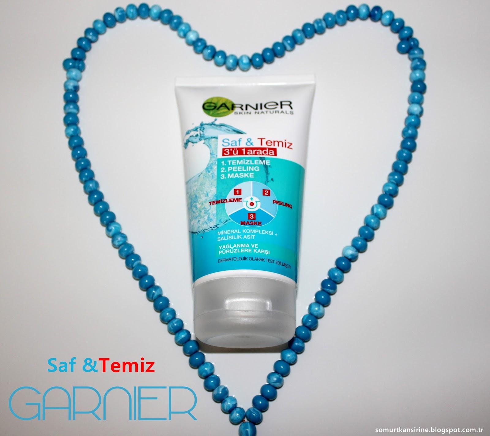 Garnier Saf & Temiz 3'ü 1 Arada