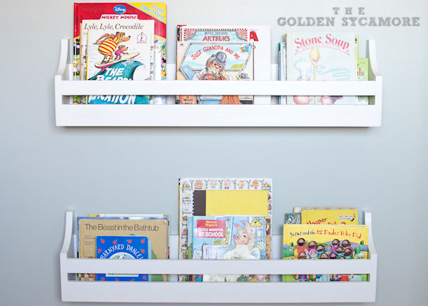 Wall Bookshelf For Nursery  TheNurseries - Wall bookshelves for nursery