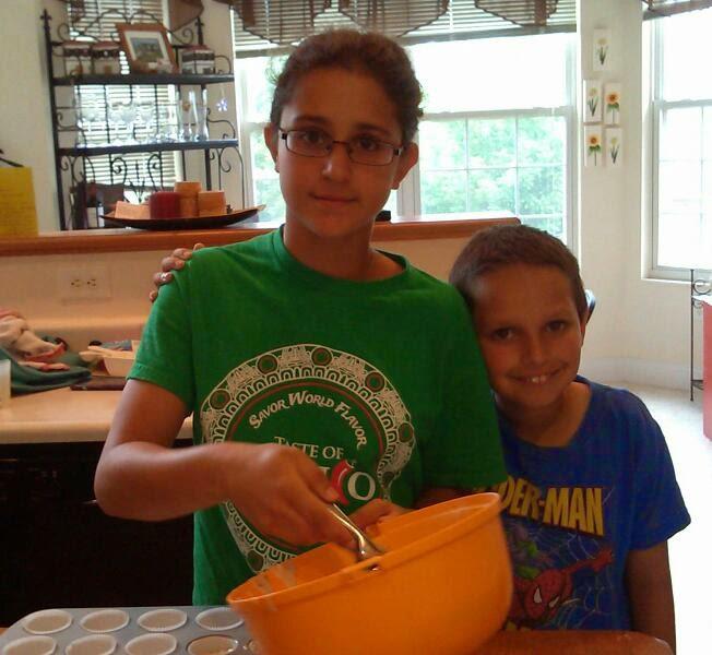 My kids Vanilla Vegan Cupcakes
