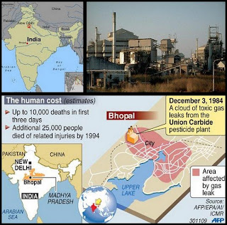 Ubicacion planta de Bhopal