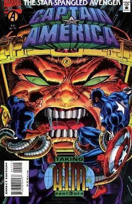 Captain America 441 Cover