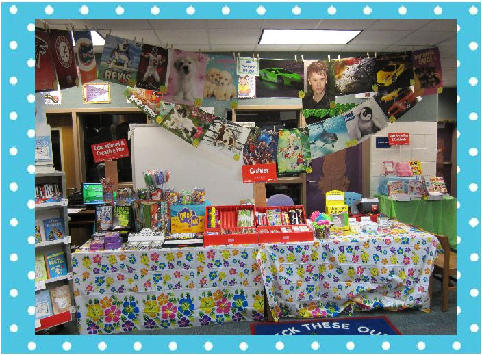The book bug spring book fair update for Table 85 hours