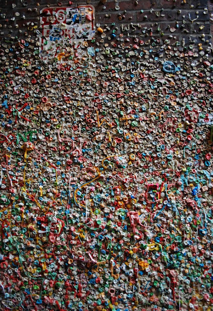 Seattle Gum Wall, USA