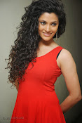 Saiyami Kher Hot in Red at Rey Trailer launch-thumbnail-16
