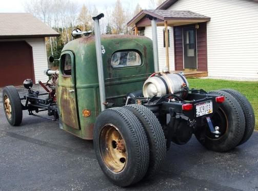 Dodge Rat Rod Dually Truck