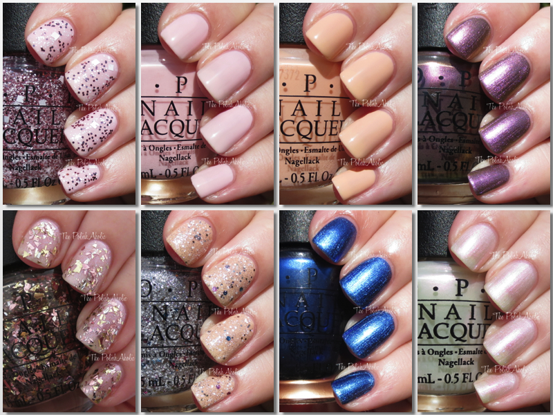 The PolishAholic: OPI Muppets Most Wanted Collection Swatches