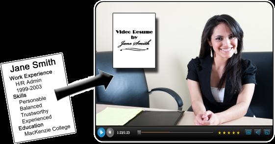 video resume website