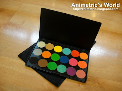 Catwalk Cosmetics Eyeshadow and Blush Runway Palette