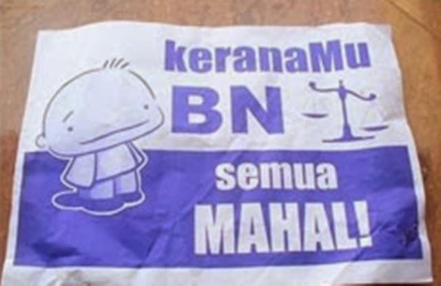 UMNO Bakal Tumbang Bukan Kerana Harga?!