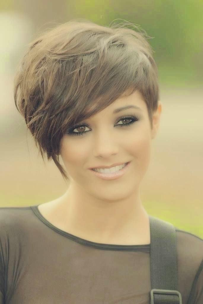 Cute Short Haircuts Cute Messy Short Hairstyles 2015