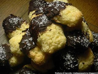 biscotti al cocco - facili, veloci, buoni