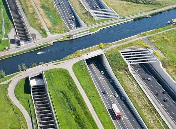 Aqueduct Ringvaart Haarlemmermeer