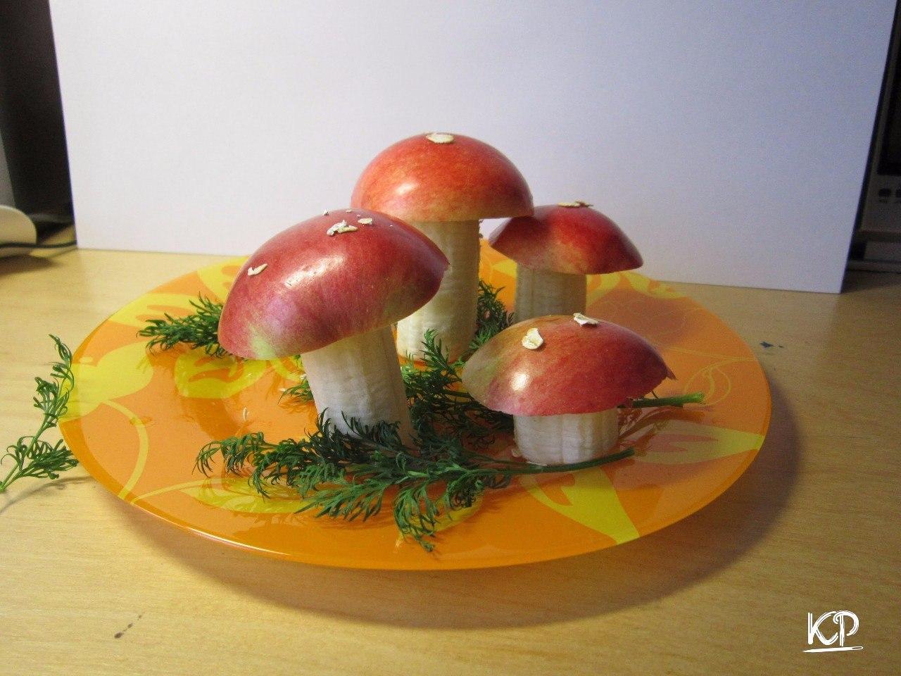 Поделки грибы для детского сада фото 43