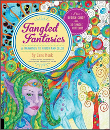 Tangled Fantasies Coloring In Book