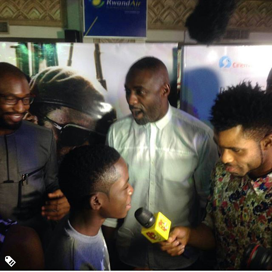Idris Elba, Okonjo-Iweala, Ben Murray-Bruce, others at the Beast of No Nation premiere in Lagos