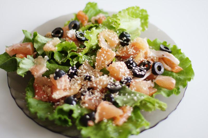 Праздничные салаты без майонеза рецепт с