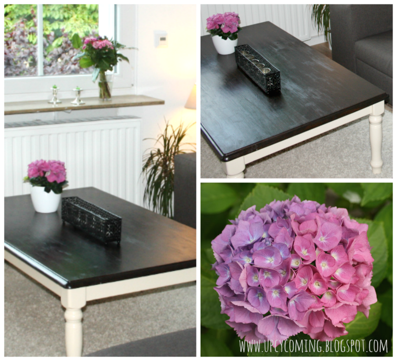 Before & After DIY Coffee Table