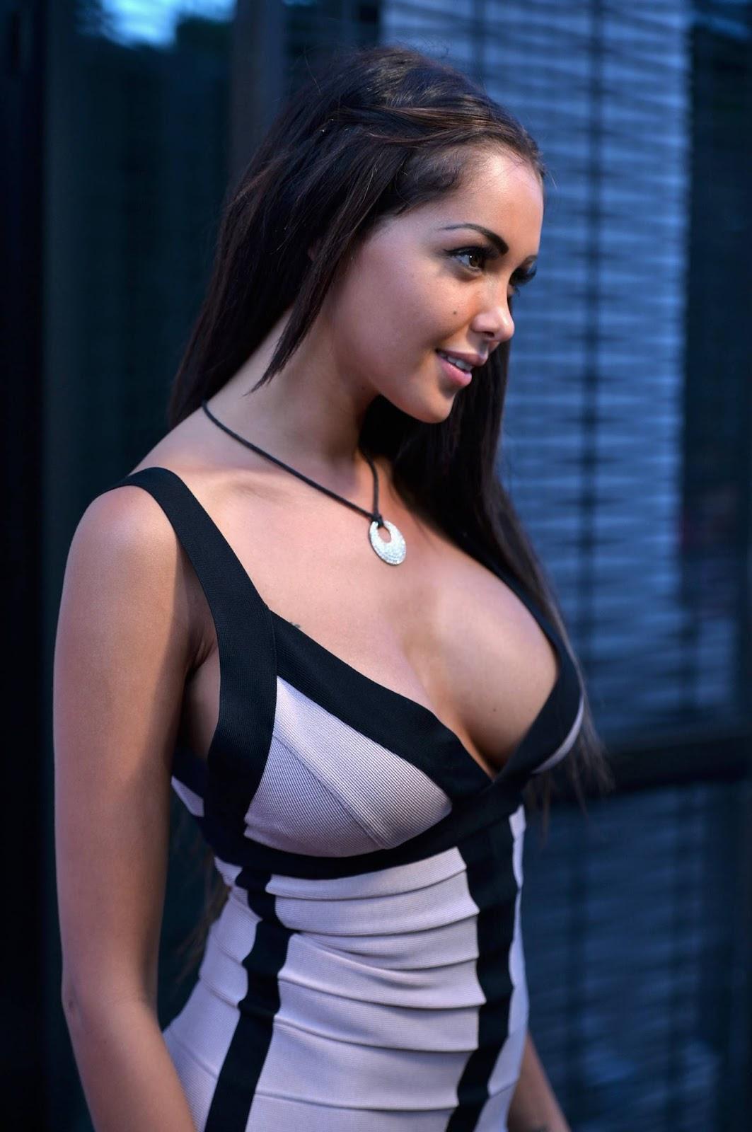 Hottiesbay: Nabilla Benattia – Genlux Magazine Party in Los Angeles