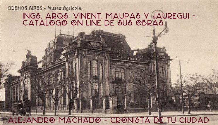 Ings. Arqs. Vinent, Maupas y Jauregui: Catálogo on line de sus obras