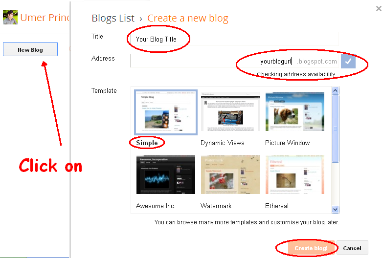 "How To Start a Blog on Blogger ""Ultimate Guide"""
