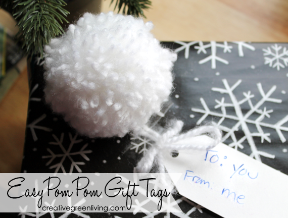 How to make a pom pom from yarn and a pom pom maker