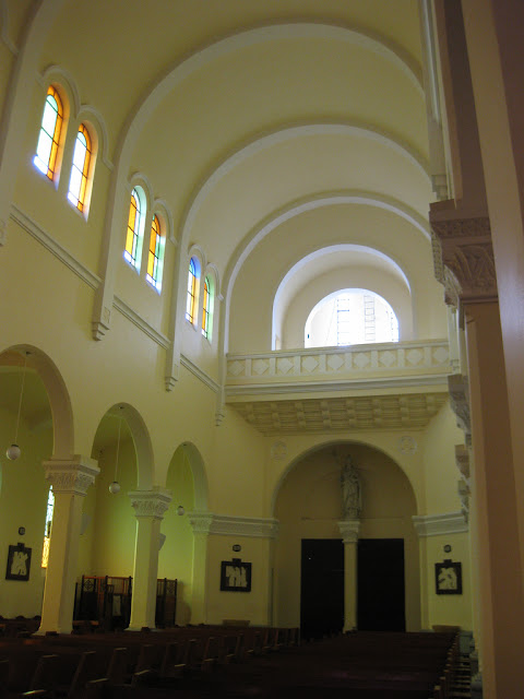Interior of the Cathedral of Da Lat