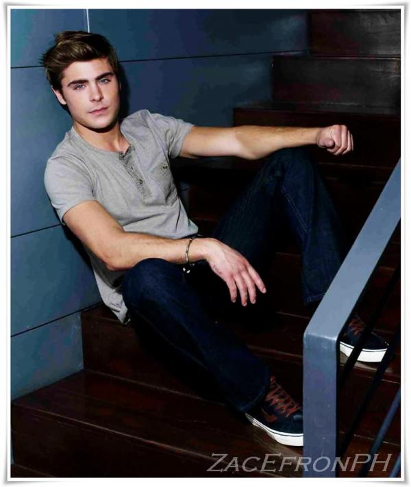 Zac Efron NEW PENSHOPPE ADS