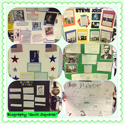 Reading Royalty Biography Projects