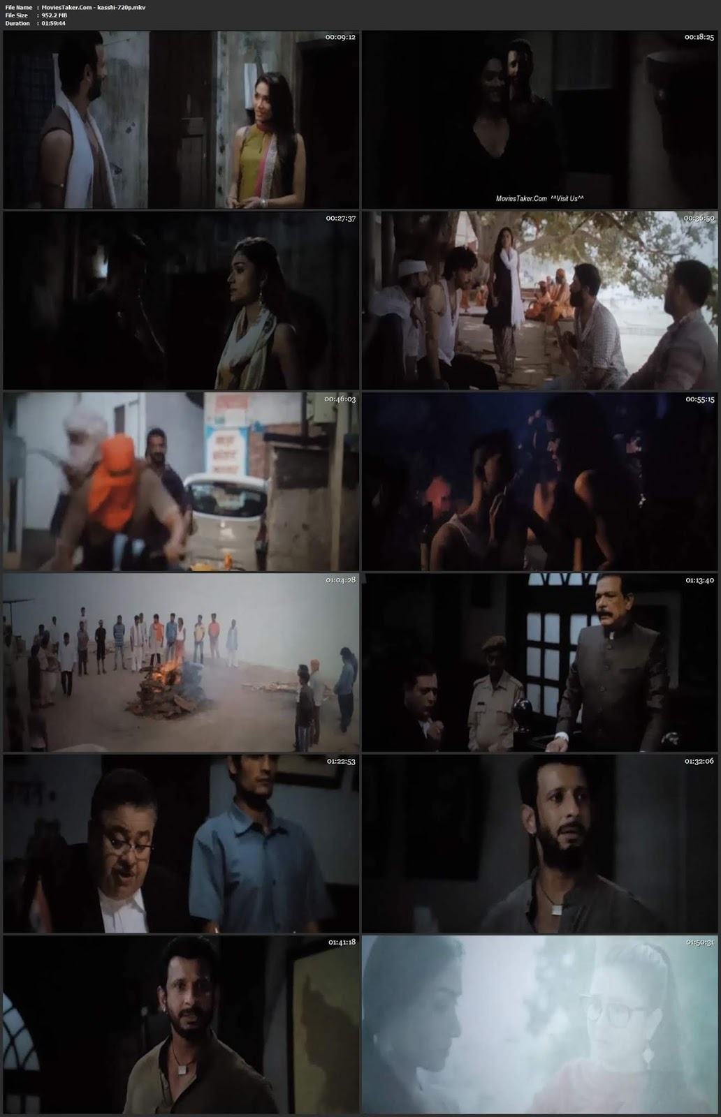Kaashi in Search of Ganga 2018 Bollywood 300MB pDVD 480p