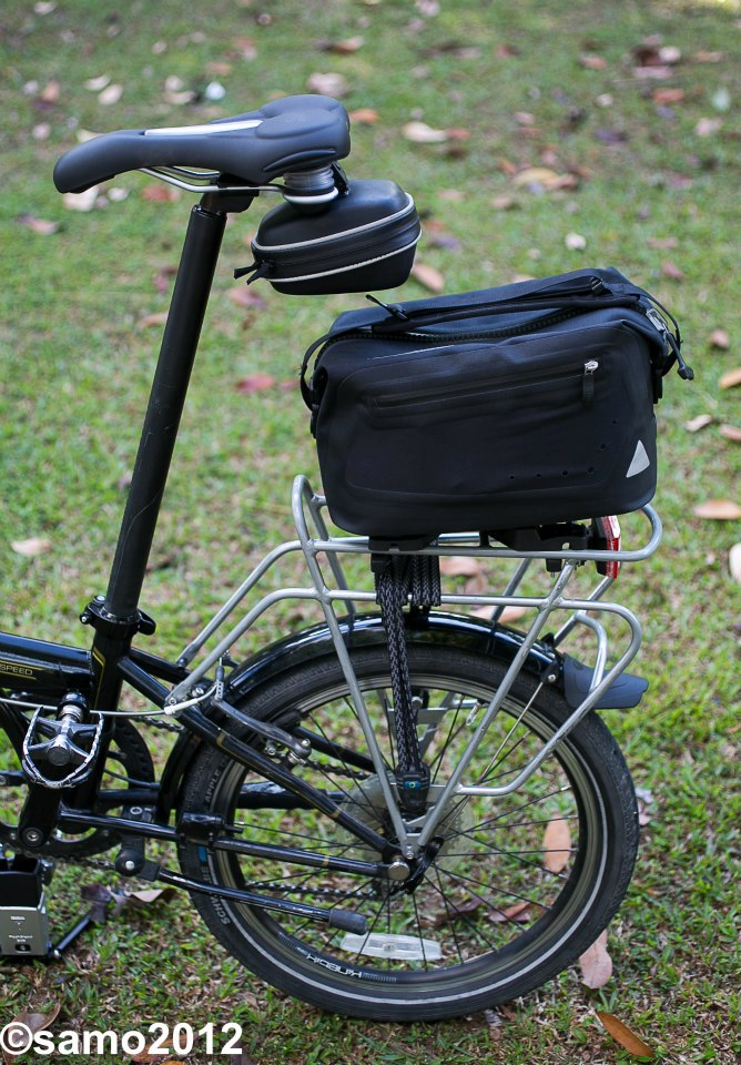 The Trunk Bag Mounted On Dahon Sd P8