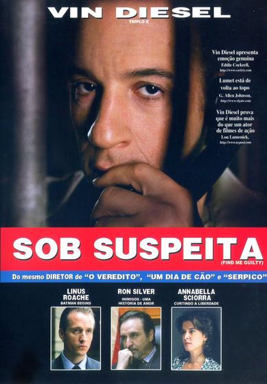 Filme Sob Suspeita Dublado AVI DVDRip