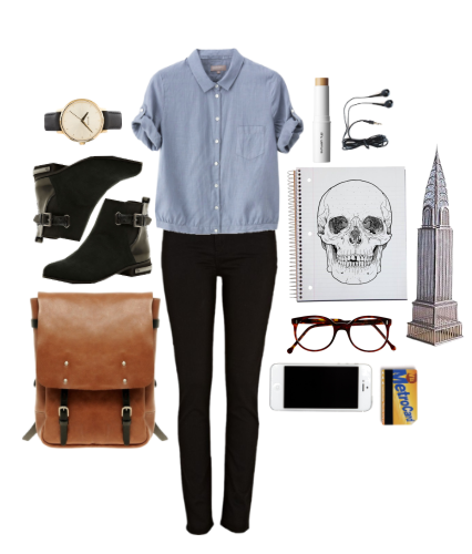 ... of a simple, back-to-school, hipster outfit that I would even wear
