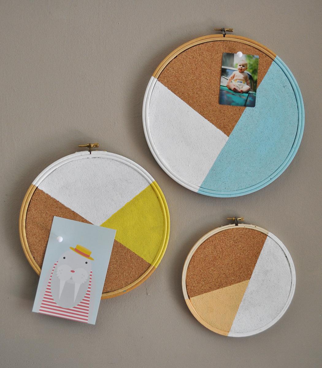 El blog de Dmc: Ideas de decoración con bastidores de bordado 3a parte