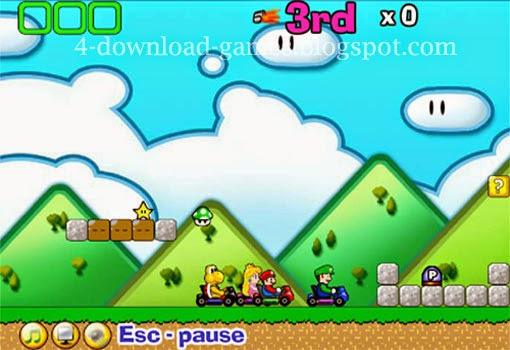 تحميل لعبة سيارات ماريو Mario Race Game لعبة سباق مجانا