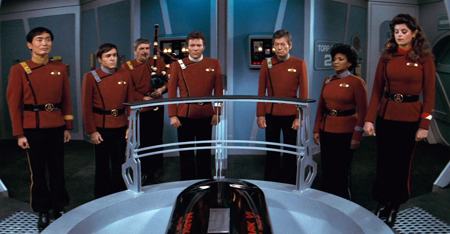 """S02-spock's funeral"" by Source. Licensed under Fair use via Wikipedia - https://en.wikipedia.org/wiki/File:S02-spock%27s_funeral.png#/media/File:S02-spock%27s_funeral.png"