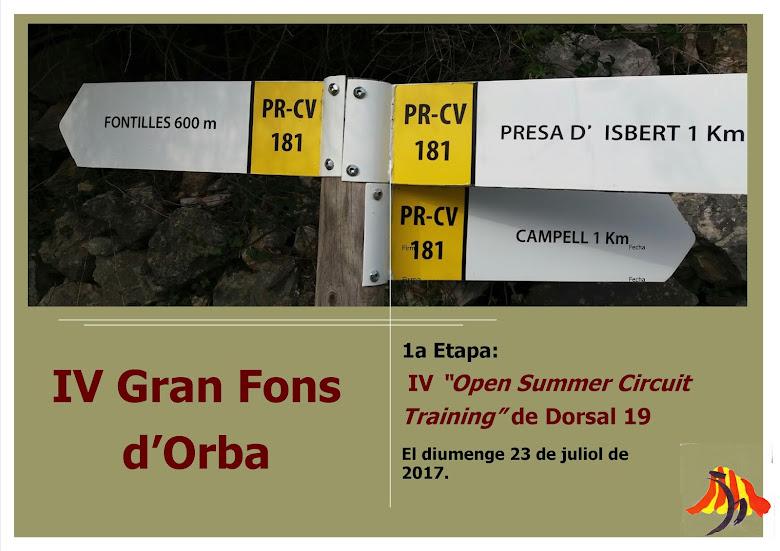 "IV ""Open Summer Circuit Training"""