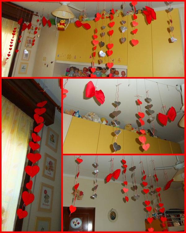 Studiamando liberamente decorazioni natalizie catene di for Decorazioni da appendere al soffitto