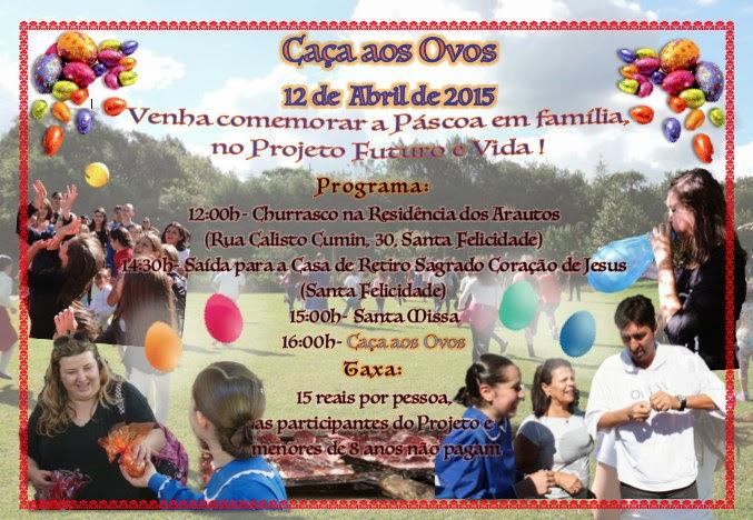 Convite - Páscoa 2015