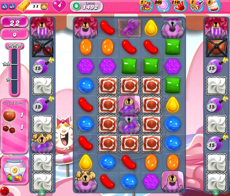 Candy Crush Saga 1492