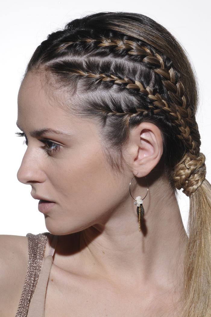 peinados y trenzas trenzas en pelo largo 2013