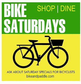 http://bikeandpaddle.com/bikesaturdays.html
