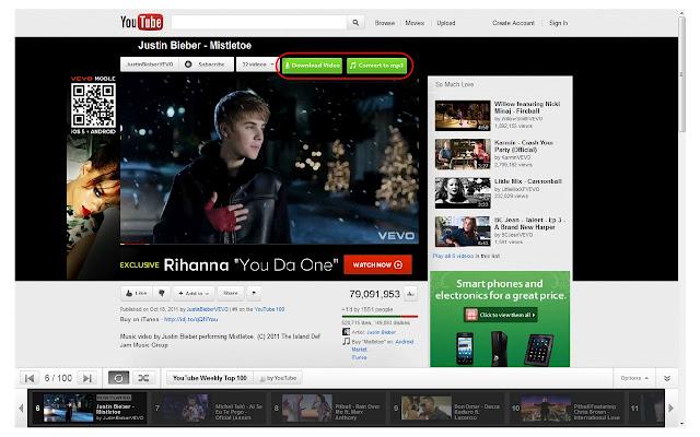scaricare video da youtube con chrome 2012