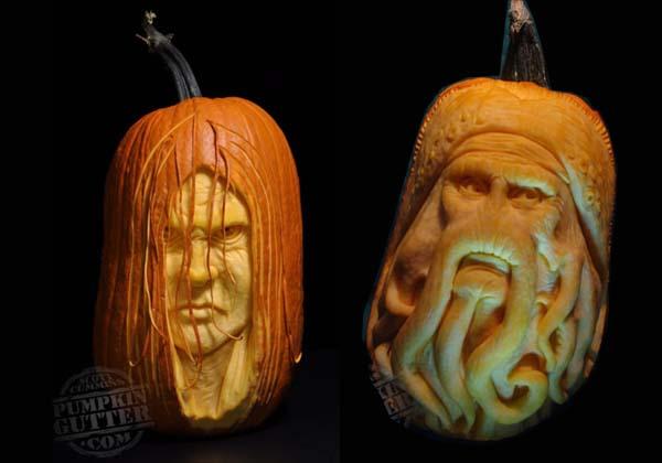 Most Expressive 3D Pumpkin Face Sculptures II Spyful Breaking News