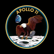 MOON LANDING 9 DAY MISSION IN REAL-TIME: A NASA CONSOLE: CLICK LOGO