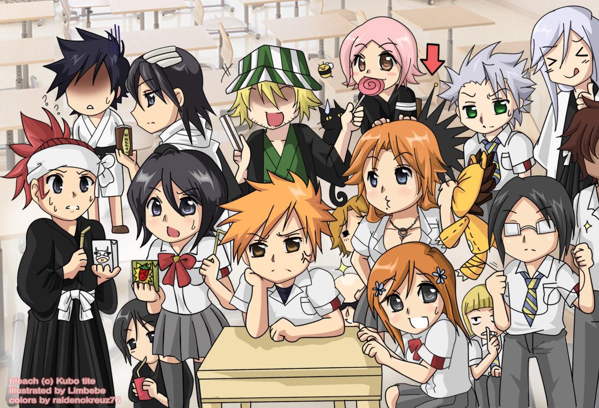 Anime Characters Chibi : Anime cartoon chibi