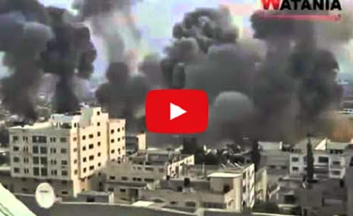 Video Zionis Israel hancurkan Gaza
