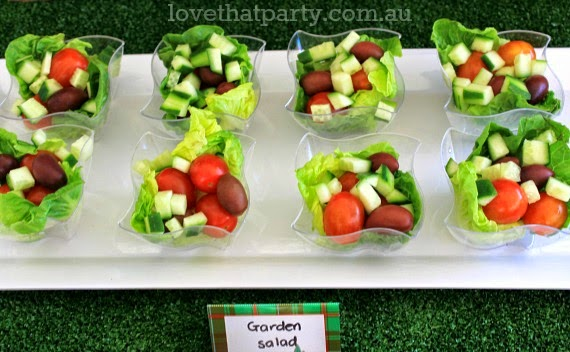 Get kids to eat healthy party food with these tips and tricks! via Love That Party. www.lovethatparty.com.au
