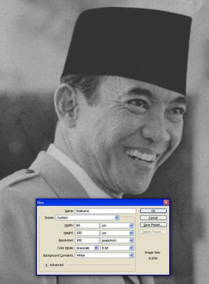 Tutorial Cara Mudah Membuat WPAP dengan Photoshop CS3