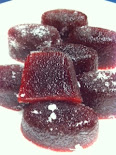 Cranberry Gumdrops