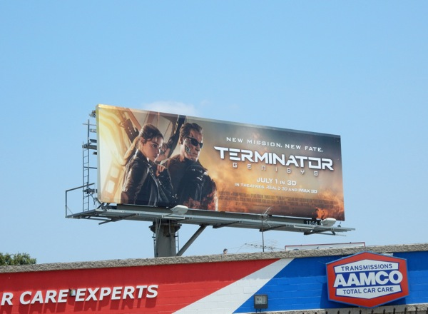 Terminator Genisys billboard